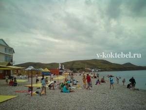 коктебель_фото_пляж_отдых
