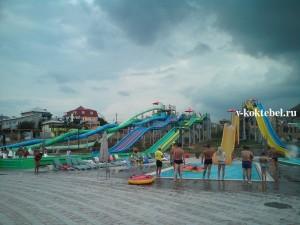 коктебель_аквапарк_фото_водные_горки