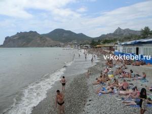 фото_Коктебель_фото_города_и_пляжа