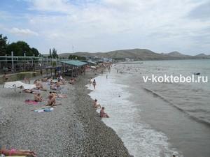 коктебель_море_пляж