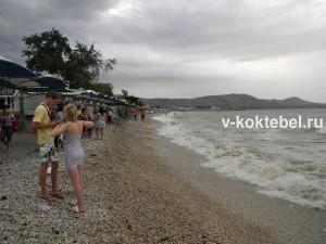 коктебель_пляж_фото_видео