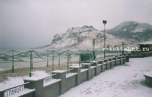 Коктебель-2013-зима-Карадаг