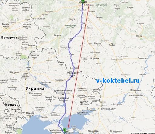 Как-доехать-до-Коктебеля-из-Москвы