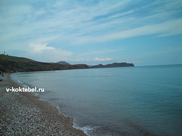 дикие-пляжи-Крыма-фото-нудийский-пляж-Коктебель