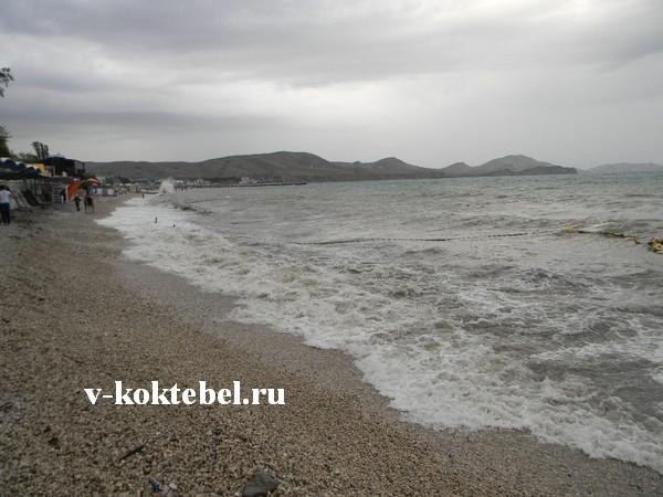 пляж-Коктебеля-на-фото