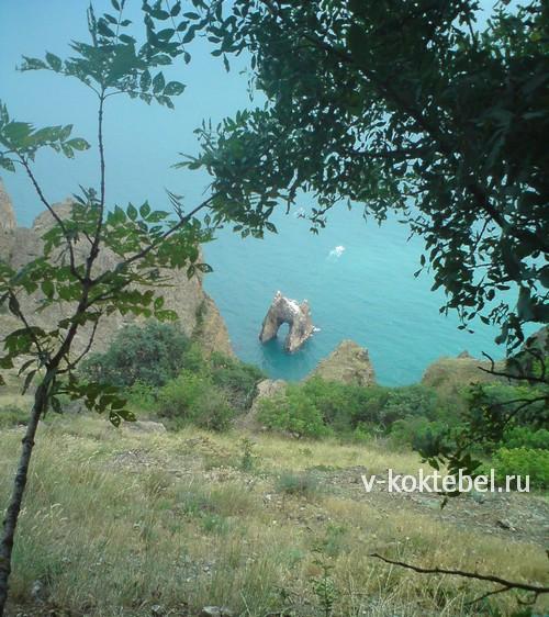 Золотые-ворота-Карадага