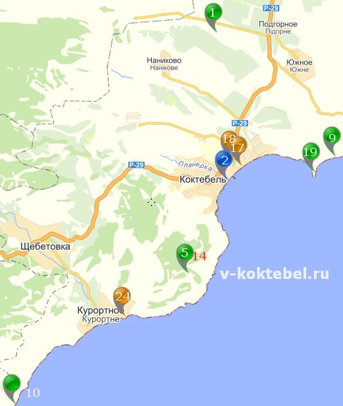Коктебель-достопримечательности-Крыма-на-фото