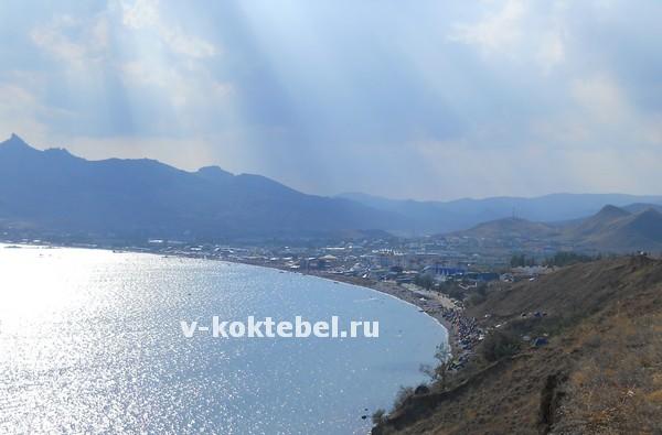 Курорт-Коктебель-Крым-Украина-вид-с-холма