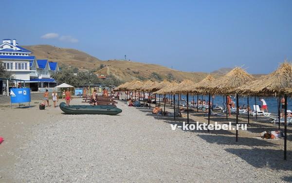 пляжи-Коктебеля-фото-из-Крыма