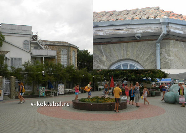 площадь-М.Волошина-в-Коктебеле-веб-камера-онлайн