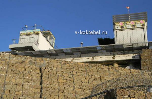 веб-камеры-на-доме-Д. Киселева-Коктебель