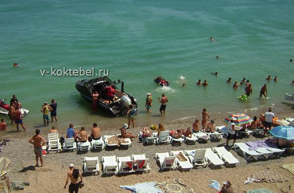 Крым пляжи Николаевки