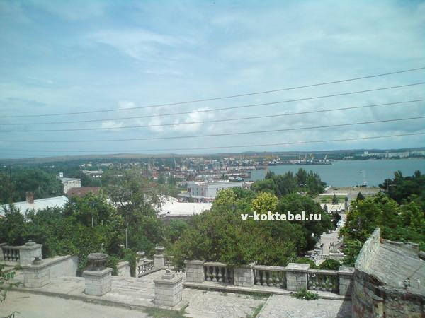 город Керчь с Митридатовской лестницы