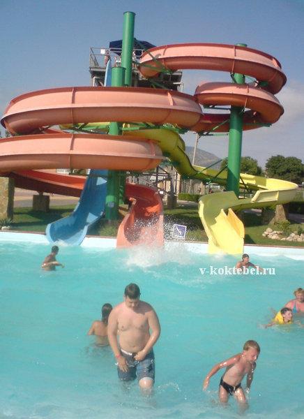 фото Судака в Крыму и  аквапарка
