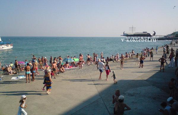 Большая Ялта - отдых на пляжах Крыма