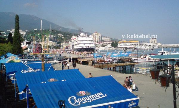 побережье Крыма - отдых в Большой Ялте